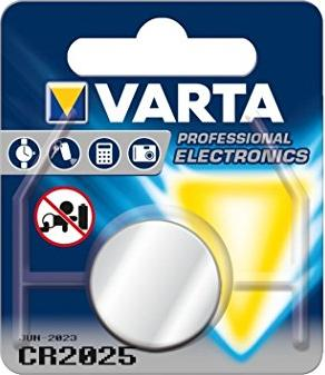 Varta CR2025, Knopfzelle, Lithium, 3V (6025-101-401) -- http://bepixelung.org/16374
