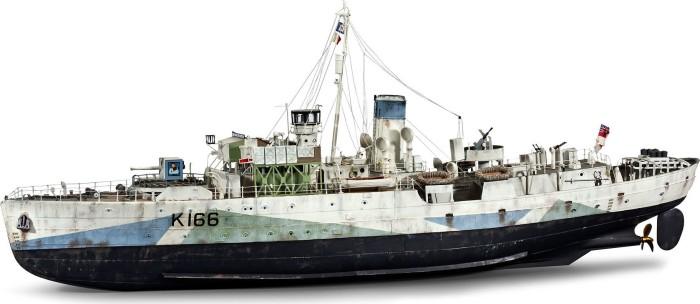 Revell Technik Kriegsschiff Flower Class Corvette (00451)