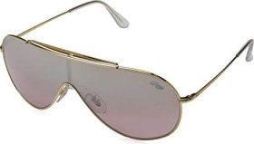 Ray-Ban RB3597 Wings 133mm gold/silver-pink gradient mirror (RB3597-9050Y2)