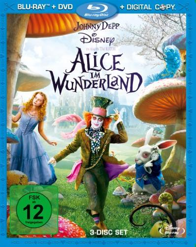 Alice Im Wunderland (2010) (Special Editions) (Blu-ray) -- via Amazon Partnerprogramm