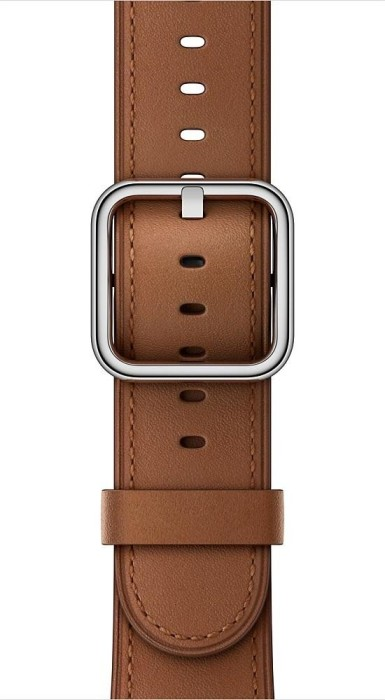 Apple klassisches Lederarmband für Apple Watch 38mm sattelbraun (MPWC2ZM/A)