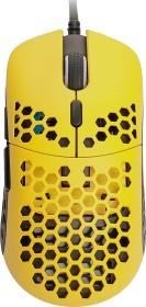 HK Gaming Mira-M Gaming Mouse gelb/schwarz, USB (mira_mh3360_bee)