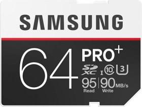 Samsung R95/W90 SDXC PRO+ 64GB, UHS-I U3, Class 10 (MB-SD64D/EU)