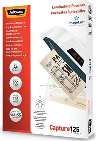 Fellowes Laminierfolie A4, 2x 125 micron, glänzend, 100 Stück (53074) -- via Amazon Partnerprogramm