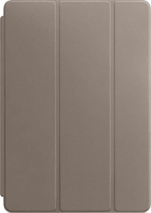 """Apple iPad 10.2"""" and iPad Pro/Air 3 10.5"""" leather Smart Cover, Taupe (MPU82ZM/A)"""