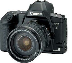Canon EOS 3 (SLR) with lense third-party manufacturer
