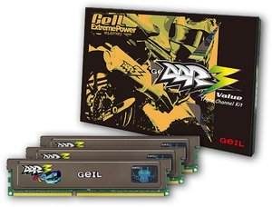 GeIL Value DIMM Kit   6GB, DDR3-1333, CL9-9-9-24 (GV36GB1333C9TC)
