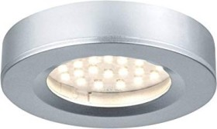 Paulmann Platy LED surface mounted light chrome matte 3x2.5W, 3er set (935.80)