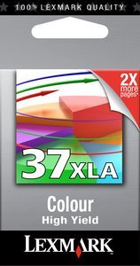 Lexmark 37 XLA Druckkopf mit Tinte farbig (18C2200E)