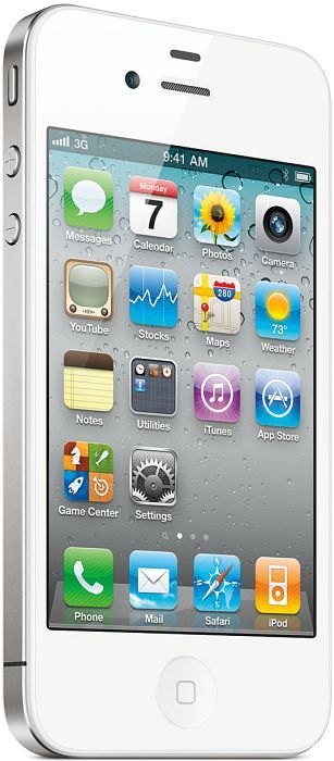 Apple iPhone 4s 64GB white with branding
