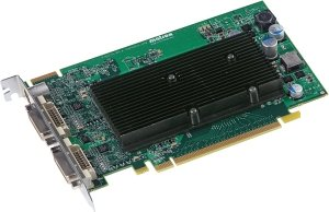 Matrox M9120, 512MB DDR2, 2x DVI, TV-out (M9120-E512F)