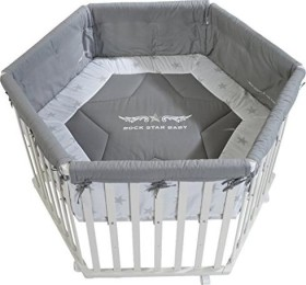 roba playyard Rock Star Baby 2 6-angular white (0232WRS2)