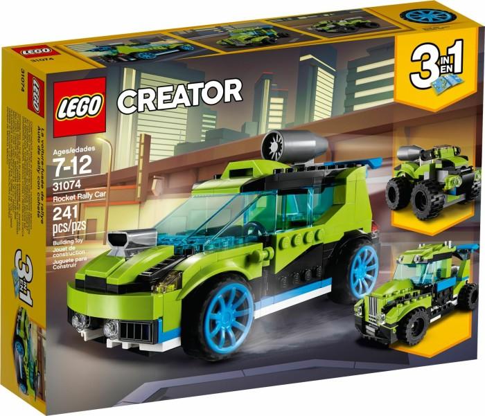 LEGO Creator 3in1 - Raketen-Rallyeflitzer (31074)