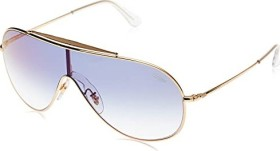 Ray-Ban RB3597 Wings 133mm gold/blue gradient mirror (RB3597-001/X0)