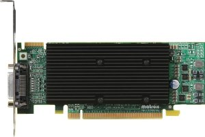 Matrox M9120 Plus LP,  512MB DDR2, LFH60, low profile (M9120-E512LPUF)