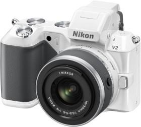 Nikon 1 V2 weiß mit Objektiv VR 10-30mm 3.5-5.6 (VVA112K001)