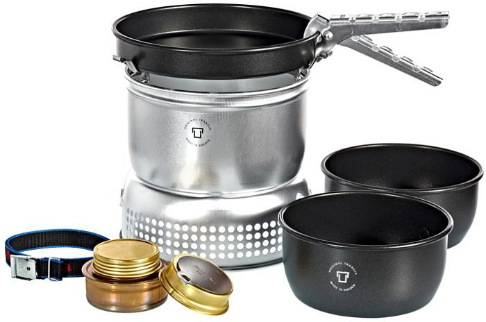 Trangia 27-7 cooker set with alcohol burner -- ©Globetrotter
