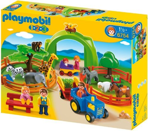playmobil - 1.2.3 - Large Zoo (6754) -- via Amazon Partnerprogramm