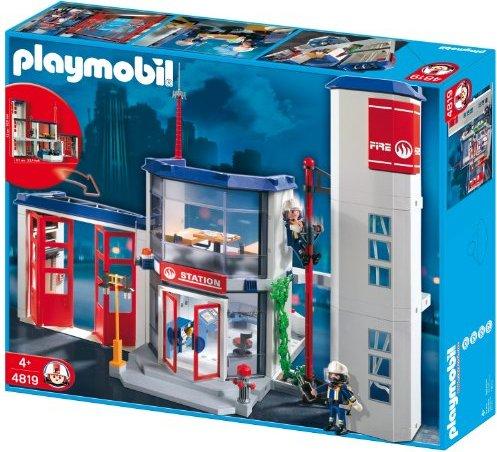 playmobil City Action - Feuerwehr-Hauptquartier (4819) -- via Amazon Partnerprogramm
