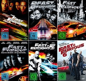 The Fast And The Furious Box (Filme 1-6)