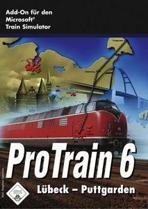 Microsoft Train simulator - Pro Train 6: Lübeck-Puttgarden (add-on) (German) (PC)