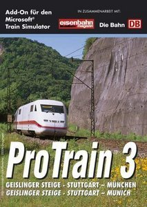 Microsoft Train Simulator - Pro Train 3: Stuttgart - München (Add-on) (German) (PC)