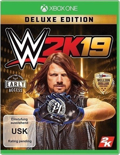 WWE 2k19 - Deluxe Edition (Xbox One)
