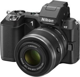 Nikon 1 V2 schwarz mit Objektiv VR 10-30mm 3.5-5.6 und VR 30-110mm 3.8-5.6 (VVA111K003)