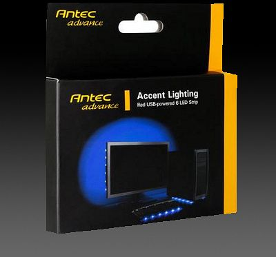 Antec Accent Lighting blau, LED-Streifen (0761345-77030-9)