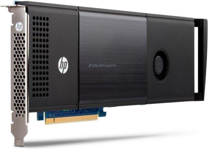 HP Z TurboDrive Quad Pro Card 2TB [2x 1TB], PCIe 3.0 x16 (T9H99AA)