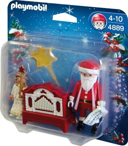 playmobil weihnachten engelchen mit nikolaus und. Black Bedroom Furniture Sets. Home Design Ideas