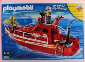 playmobil City Action - Feuerlöschboot mit Pumpe (3128)