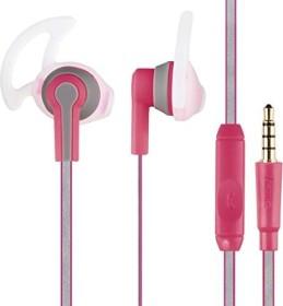 """Hama Stereo-Headset """"Reflective"""" rosa (177071)"""