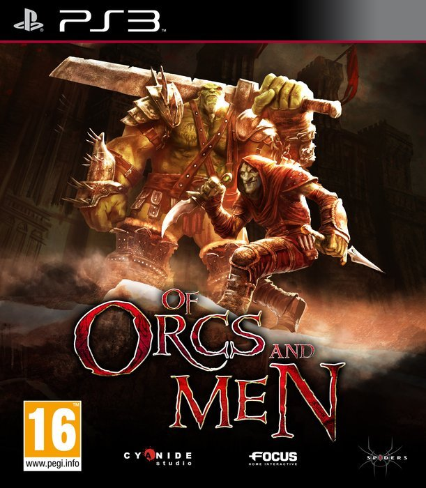 Of Orcs and Men Polish (PS3)