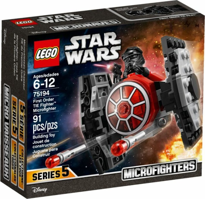 LEGO Star Wars Microfighters - First Order TIE Fighter (75194)