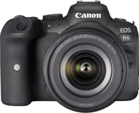 Canon EOS R6 with lens RF 24-105mm 4.0-7.1 IS STM (4082C023)