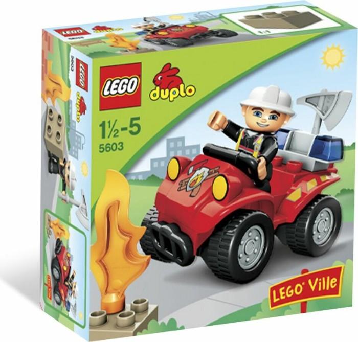 LEGO DUPLO Polizei & Feuerwehr - Feuerwehr-Hauptmann (5603) -- via Amazon Partnerprogramm