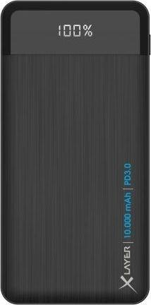 XLayer Powerbank X-Charger PD 10000mAh anthrazit (214480)