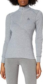 Odlo Active Warm Half Zip Turtleneck Shirt langarm grey melange (Damen) (152001-15700)
