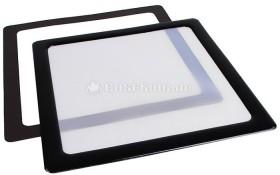 DEMCiflex Staubfilter 120mm quadratisch schwarz/weiß (DF0381)
