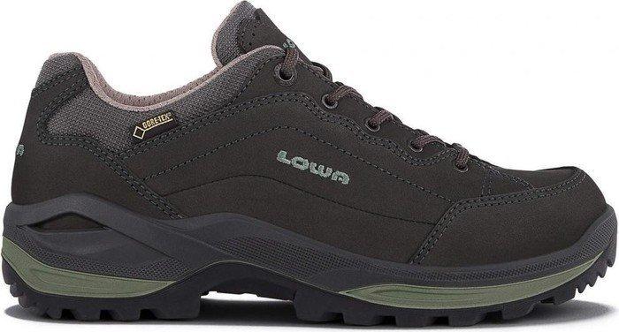 Lowa - Renegade GTX LO Damen Hikingschuh (grau/grün) - EU 38 - UK 5 ZXz9PgIkQ