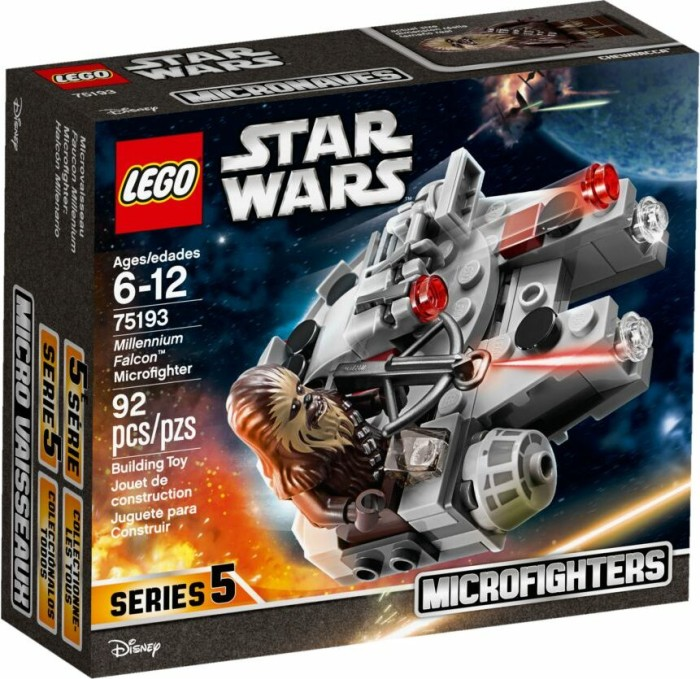 LEGO Star Wars Microfighters - Millennium Falcon (75193)