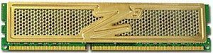 OCZ Gold DIMM 1GB PC3-8500U CL7-7-7-21 (DDR3-1066) (OCZ3G10661G)