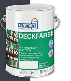 Remmers Deckfarbe Holzschutzmittel anthrazitgrau, 5l (3624-05)
