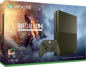 Microsoft Xbox One S - 1TB Battlefield 1 Limited Edition Bundle grün