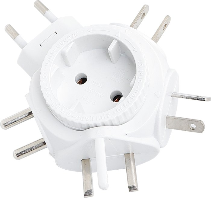 LogiLink travel adapter (PA0054)