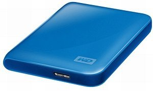 Western Digital WD My Passport Essential niebieski 500GB, USB 3.0 Micro-B (WDBACY5000ABL)