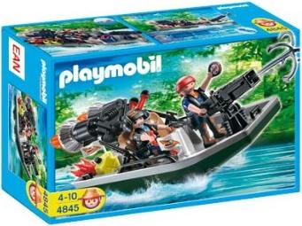 playmobil - Wild Life - Schatzräuberboot mit Kanone (4845) -- via Amazon Partnerprogramm