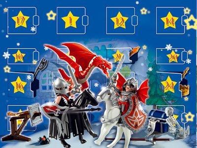 playmobil Weihnachten - Adventskalender Drachenland (4160) -- via Amazon Partnerprogramm