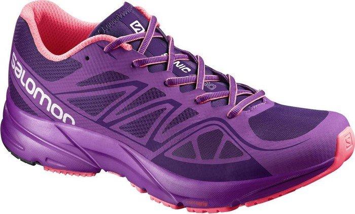 Salomon Damen L38155800 Traillaufschuhe, Violett (Cosmic Purple/Azalee Pink/Madder Pi Cosmic Purple/Azalee Pink/Madder Pi), 36 2/3 EU